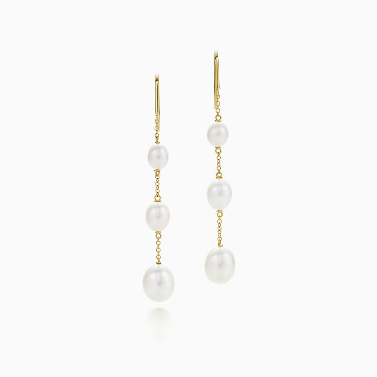 Elsa Peretti®:Pearls by the Yard™ Chain Earrings