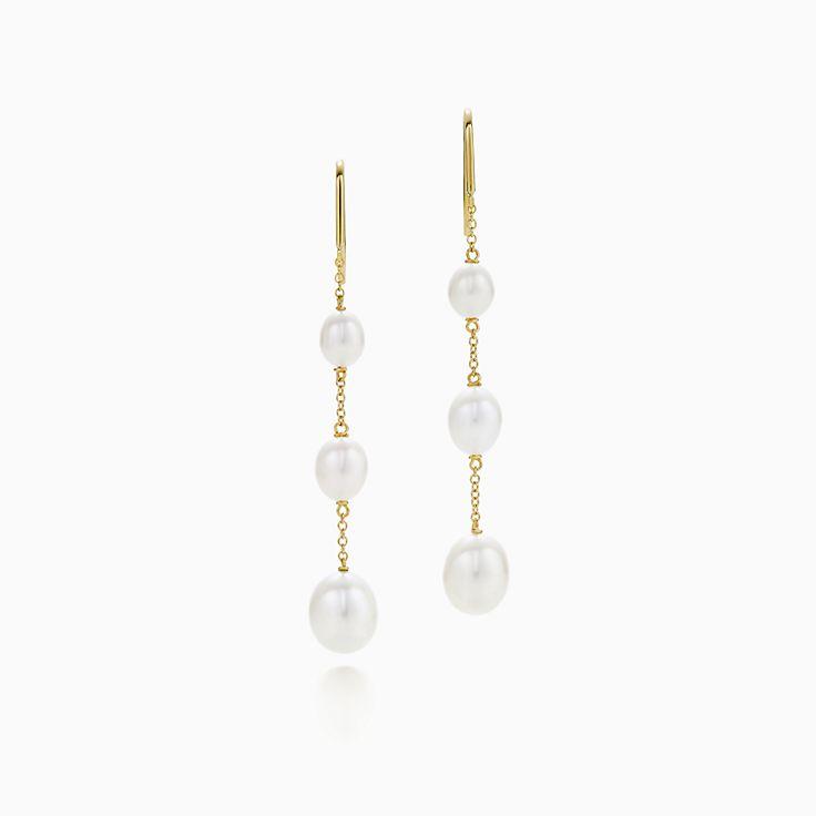Elsa Peretti®:Pearls by the Yard™ Chain Earrings