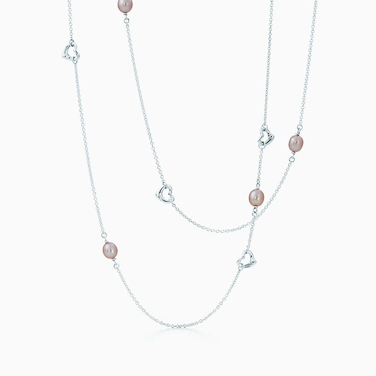 Elsa Peretti®:Pearls by the Yard™ Open Heart Necklace