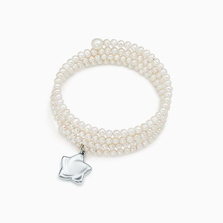 Elsa Peretti®:Three-Row Pearl Bracelet