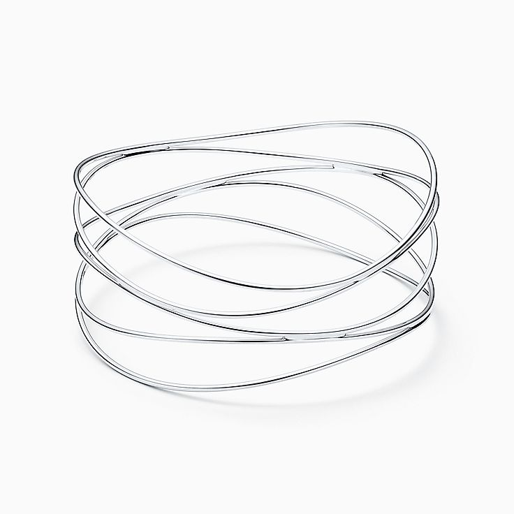 Elsa Peretti®:Wave Five-row Bangle