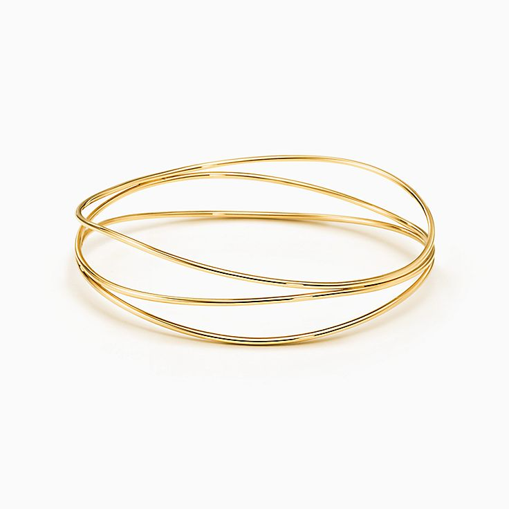 Elsa Peretti®:Wave Three-row Bangle
