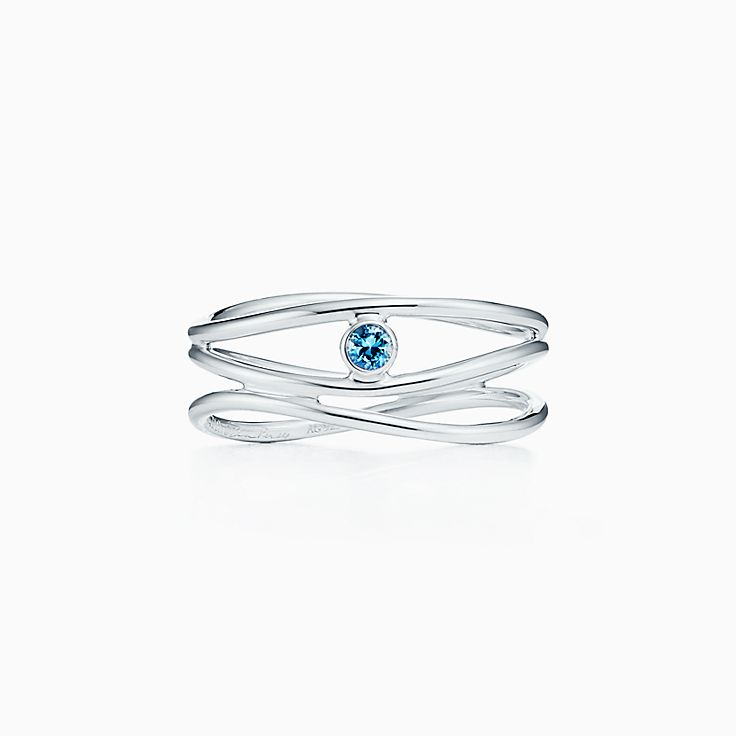 Elsa Peretti®:Wave Three-row Ring