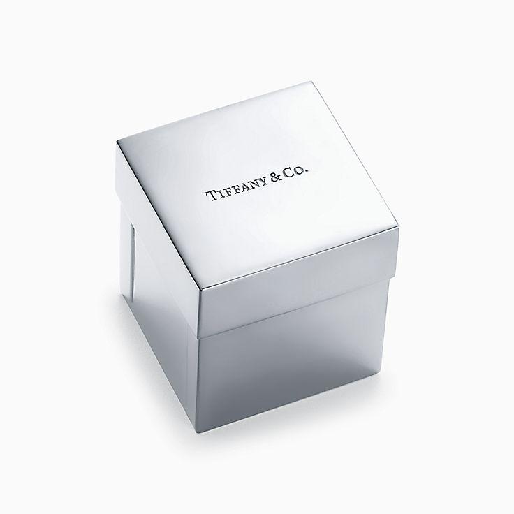 Everyday Objects:Caja Tiffany en plata de ley