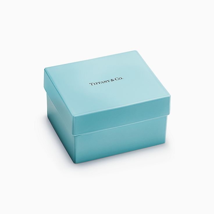 Everyday Objects:Caja Tiffany en porcelana fina
