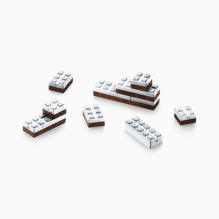 Everyday Objects:Sterling Silver Building Blocks