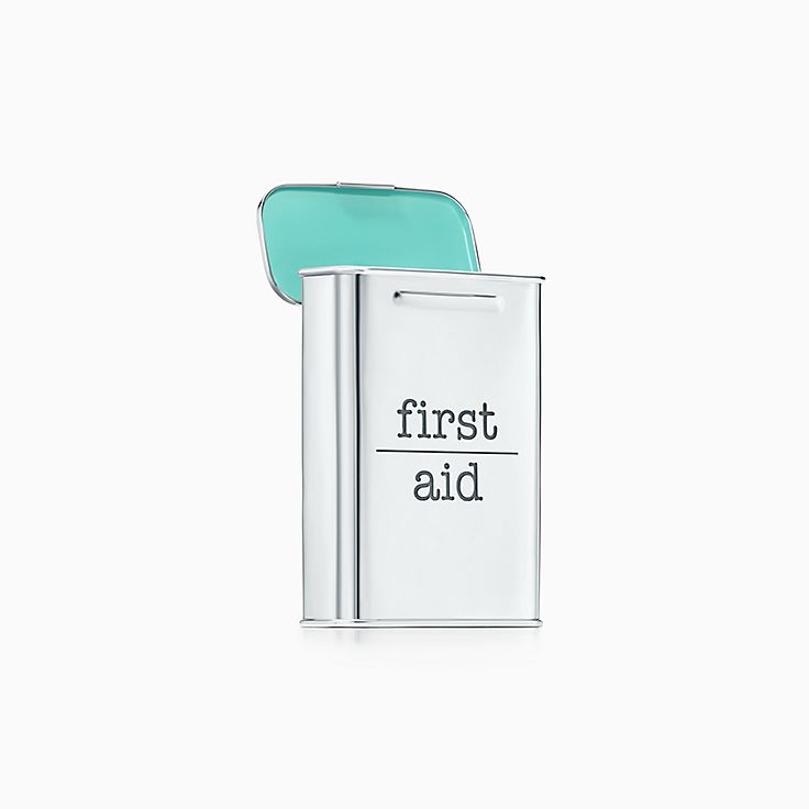Everyday Objects:Sterling Silver First Aid Box