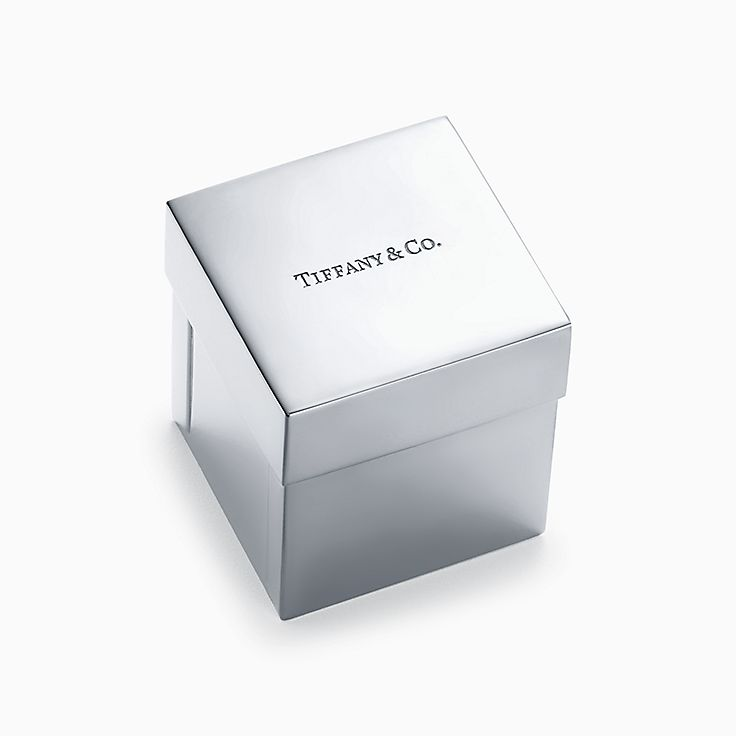 Everyday Objects:Sterling Silver Tiffany Box