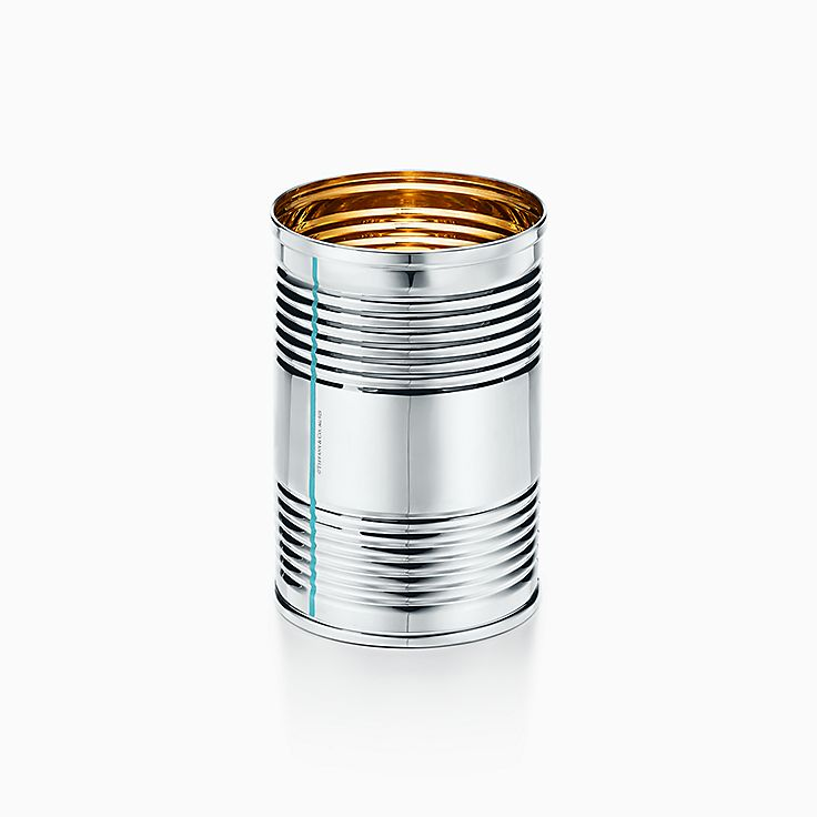 Everyday Objects:Sterling Silver Tin Can