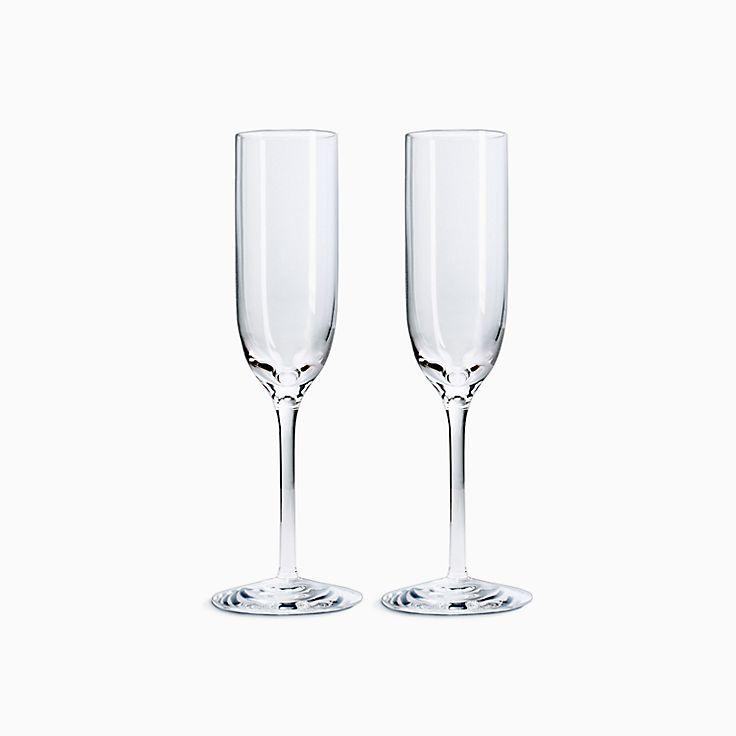 Juego de copas de champán