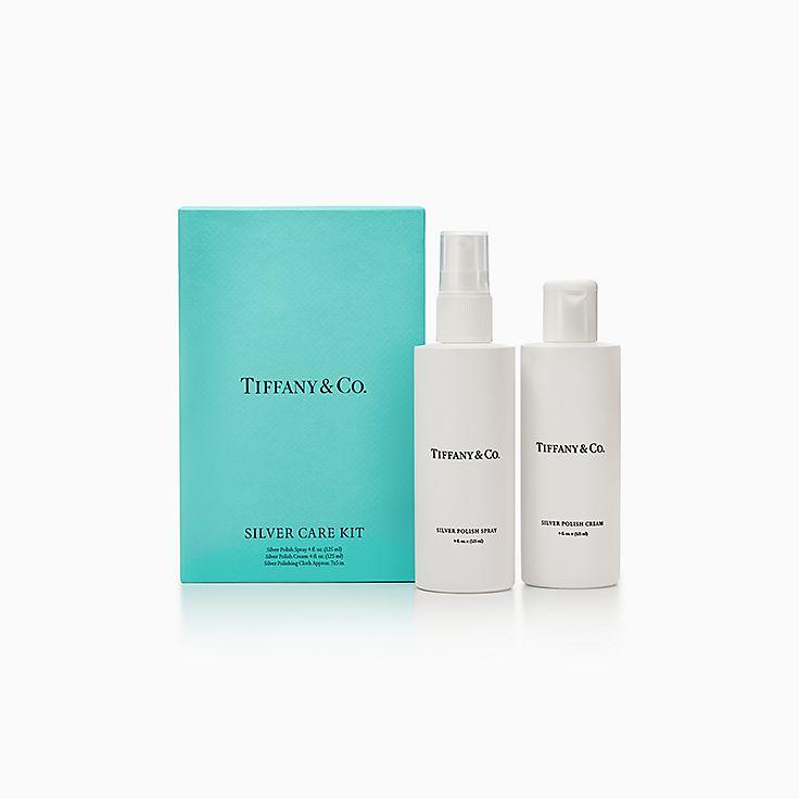 Kit d'entretien Tiffany pour objets en argent