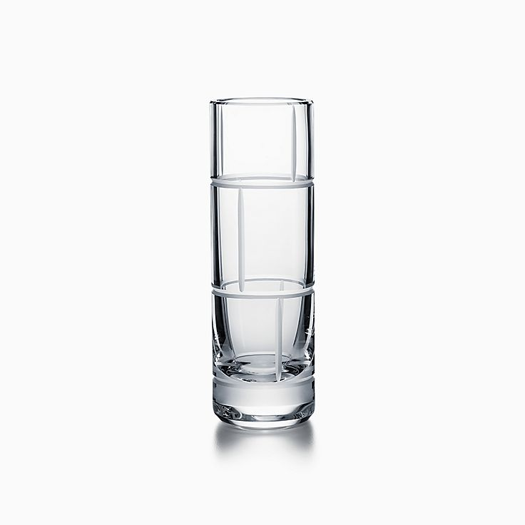 Modern Bamboo:Crystal Glass Bud Vase