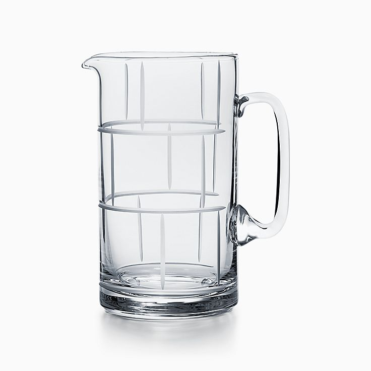 Modern Bamboo:Crystal Glass Pitcher
