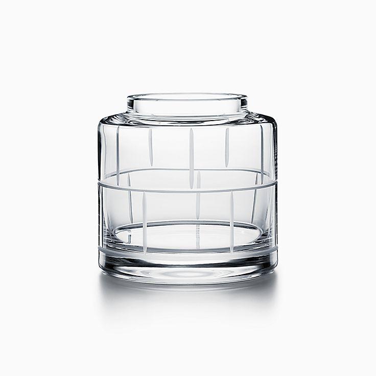 Modern Bamboo:Crystal Glass Rose Vase