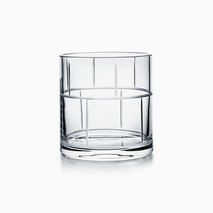 Modern Bamboo:Crystal Ice Bucket
