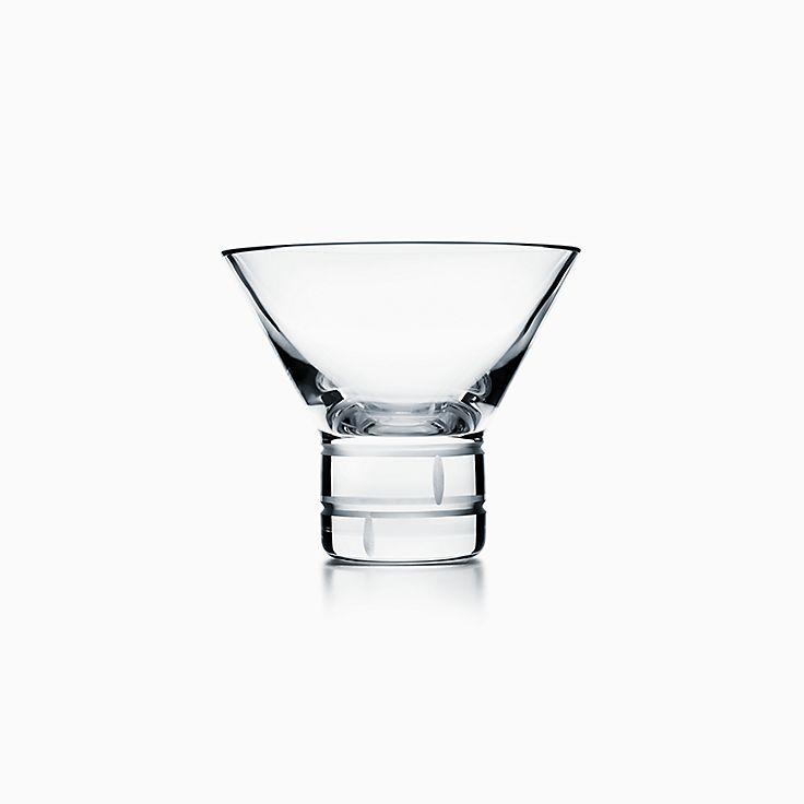 Modern Bamboo:Crystal Martini Glass