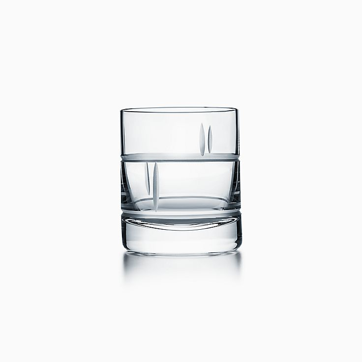 Modern Bamboo:Crystal Single Old-fashioned Glass