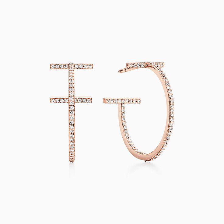 Orecchini a Cerchio Wire. Collezione Tiffany T