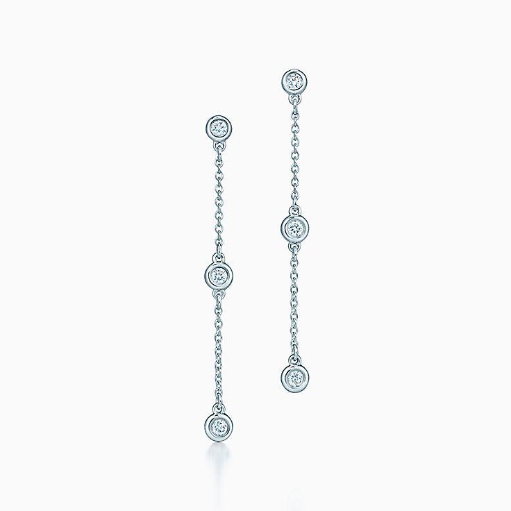 Orecchini pendenti. Collezione Diamonds by the Yard® di Elsa Peretti®