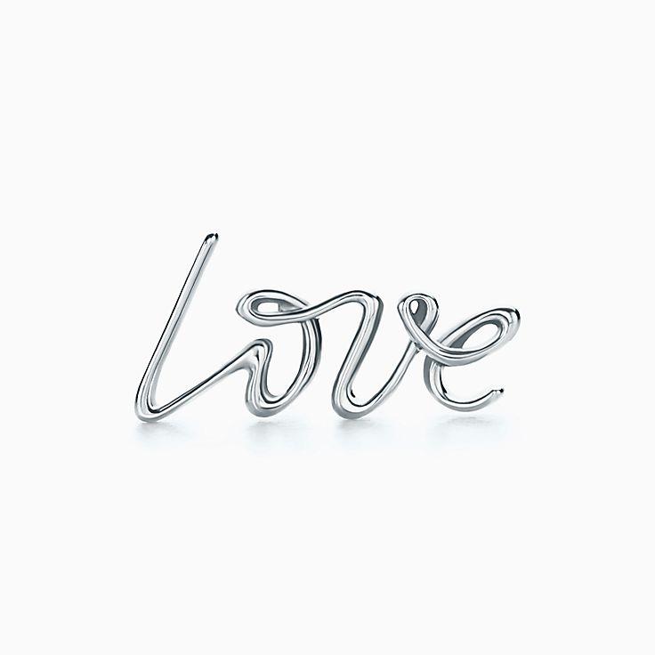 Orecchino singolo Love.CollezioneGraffiti di Paloma Picasso
