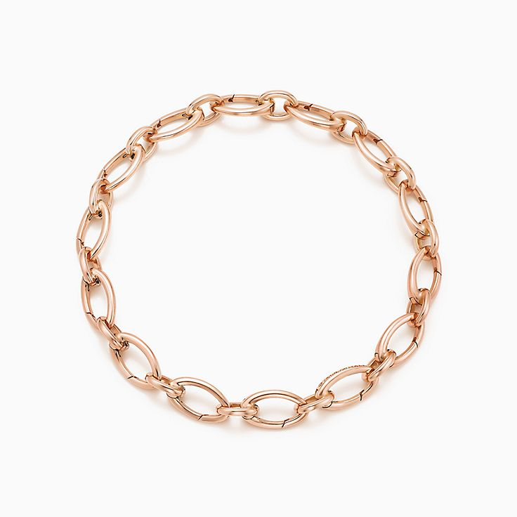 Oval Clasping Link Bracelet