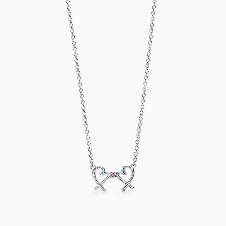 Paloma Picasso®:Подвеска Double Loving Heart