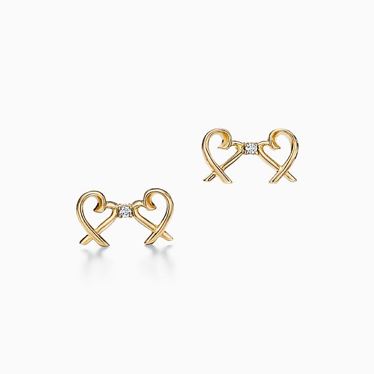 Paloma Picasso™:雙重 Loving Heart 耳環
