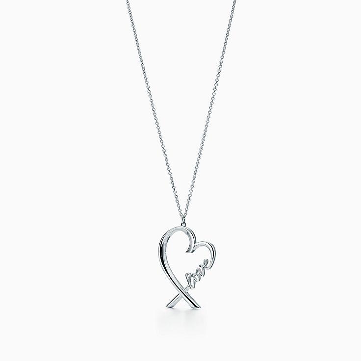 Paloma Picasso®: подвеска Loving Heart с буквами Love