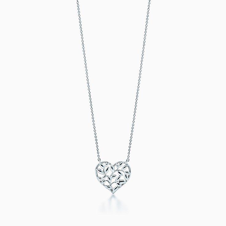 Paloma Picasso®:Подвеска-сердце Olive Leaf
