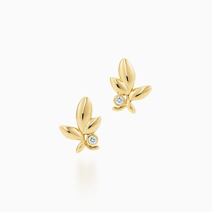 Paloma Picasso®:Серьги Olive Leaf