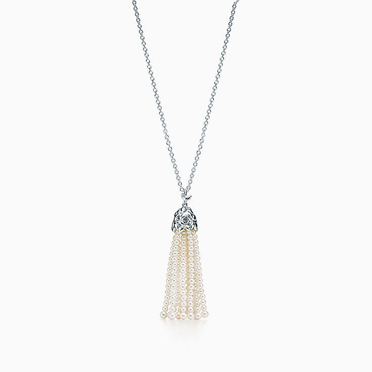Paloma Picasso®: ожерелье Olive Leaf с жемчужной кистью