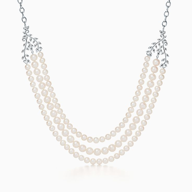 Paloma Picasso®: трехрядное ожерелье Olive Leaf
