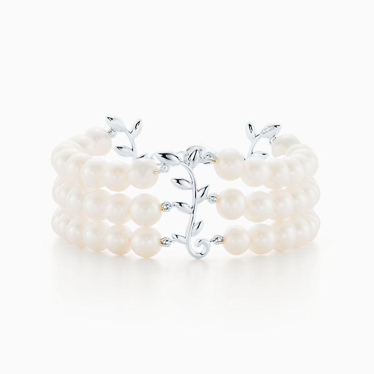 Paloma Picasso®: pulseira com três voltas Olive Leaf