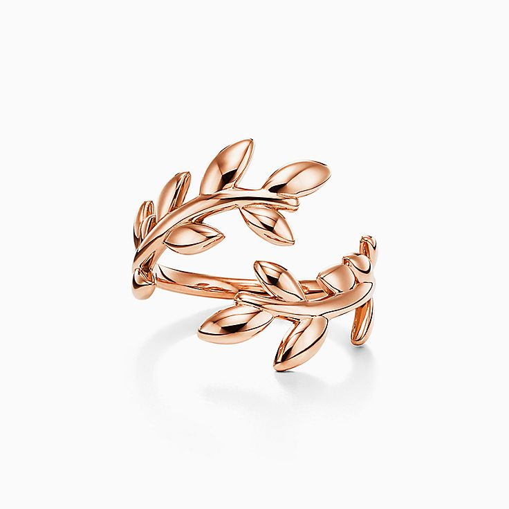 Paloma Picasso®:Anel Bypass Olive Leaf