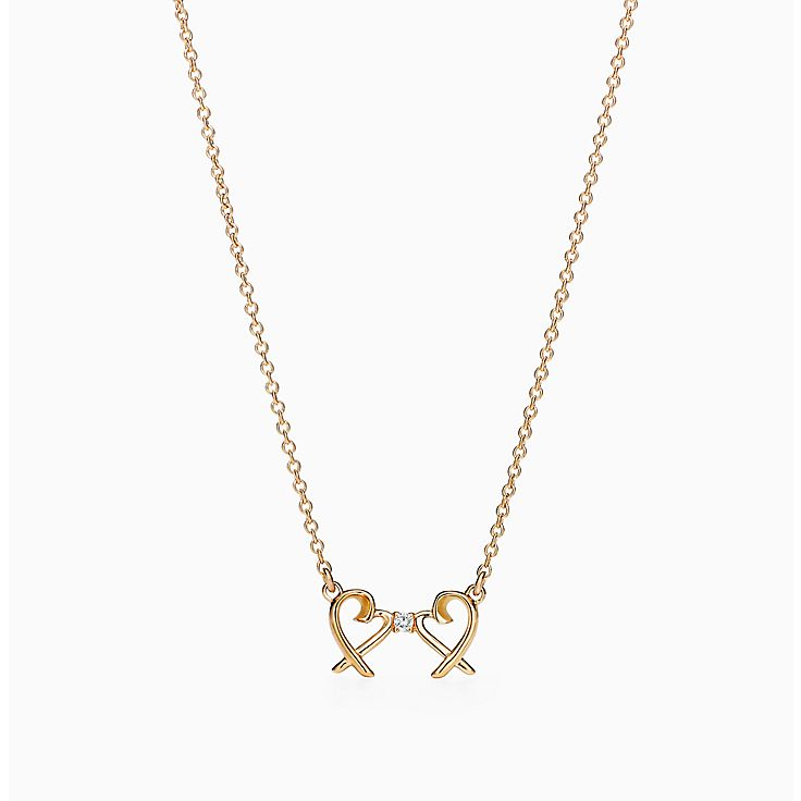 Paloma Picasso®:Double Loving Heart Pendant
