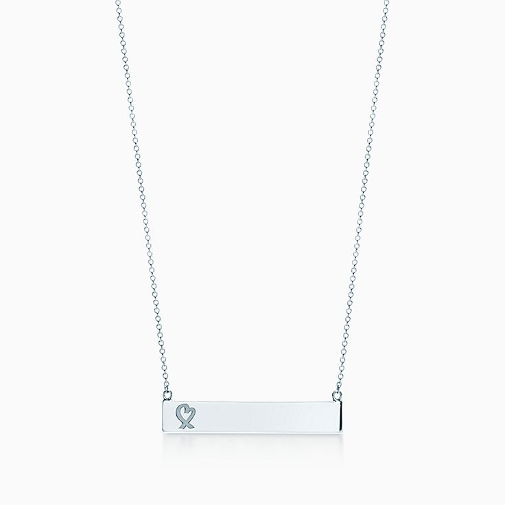 Paloma Picasso®:Loving Heart Bar Pendant