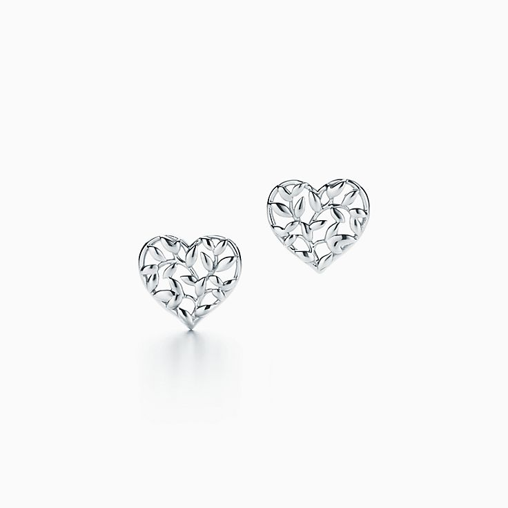 Paloma Picasso®:Olive Leaf Heart Earrings