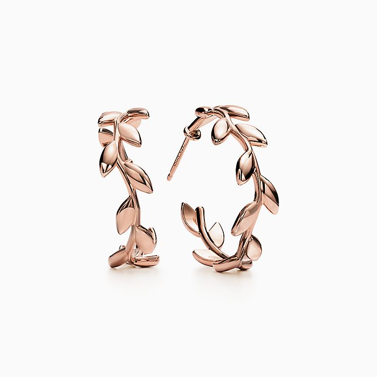 Paloma Picasso®:Olive Leaf Hoop Earrings