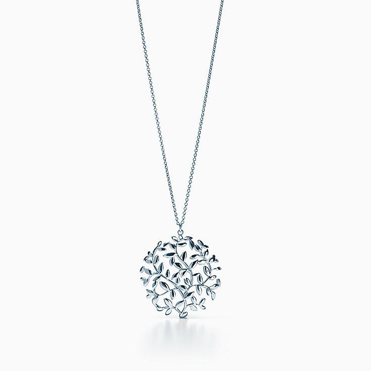 Paloma Picasso®:Olive Leaf Medallion Pendant