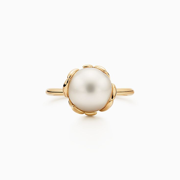 Paloma Picasso®:Olive Leaf Pearl Ring
