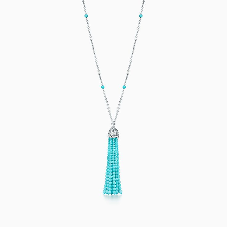 Paloma Picasso®:Olive Leaf Tassel Necklace
