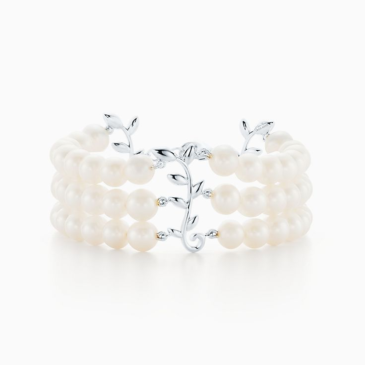 Paloma Picasso®:Olive Leaf Three-Row Bracelet