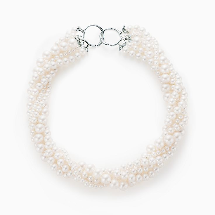 Paloma Picasso®:Olive Leaf Torsade Pearl Necklace