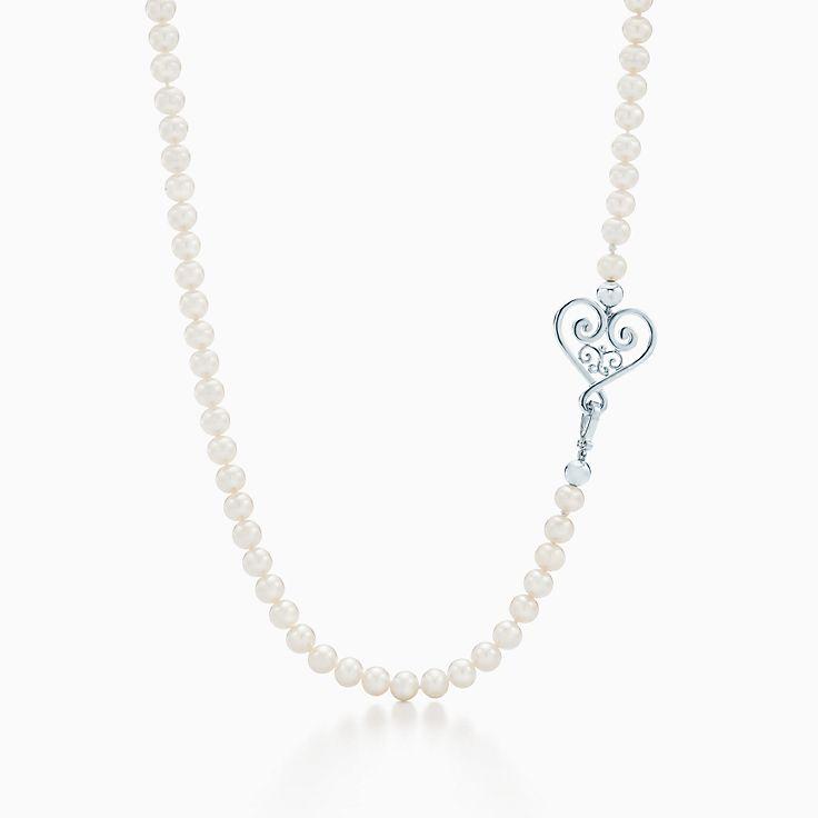 Жемчужное ожерелье Paloma's Venezia Goldoni с сердцем