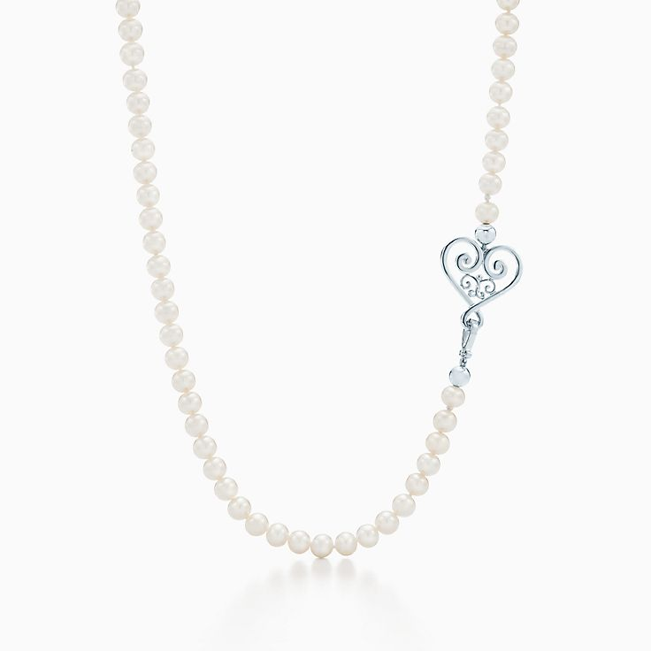 Paloma's Venezia:Goldoni Heart Pearl Necklace