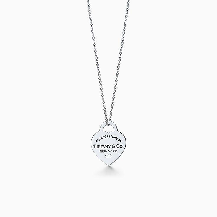 Pendentif Plaque Cœur Return to Tiffany™