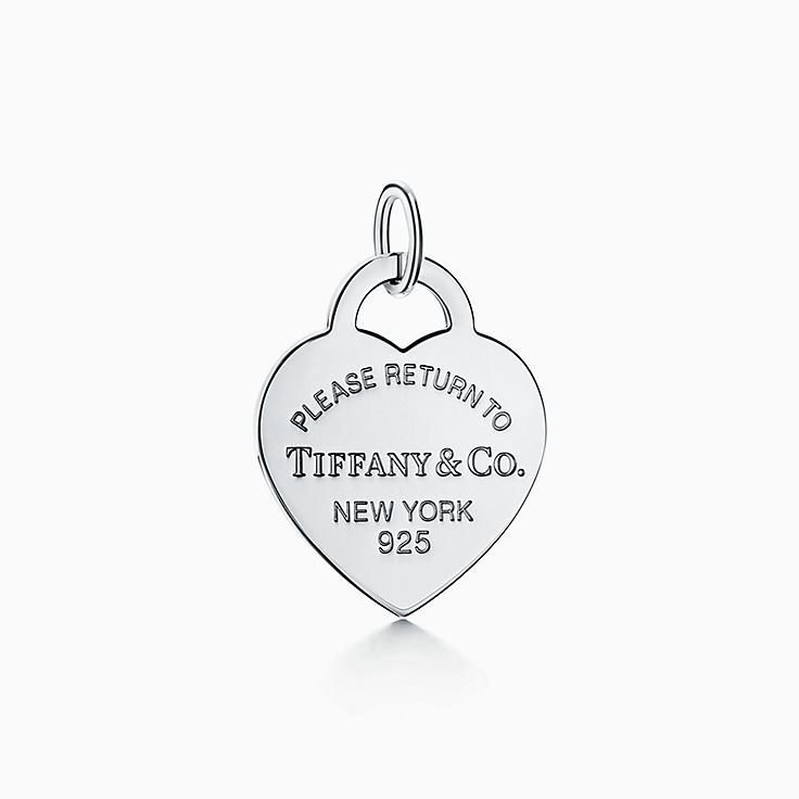 Return to Tiffany™:心形吊飾