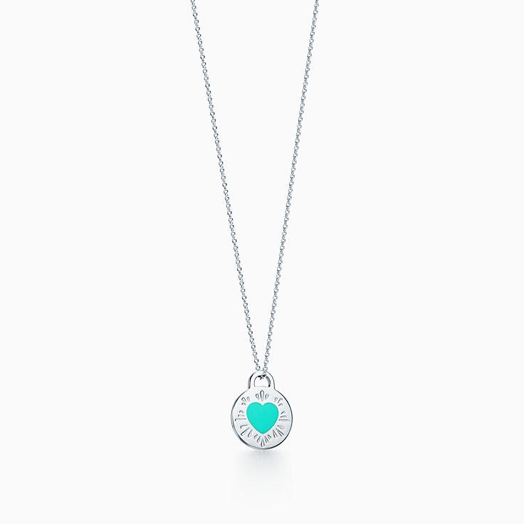 Return to Tiffany™:心形 吊飾鍊墜