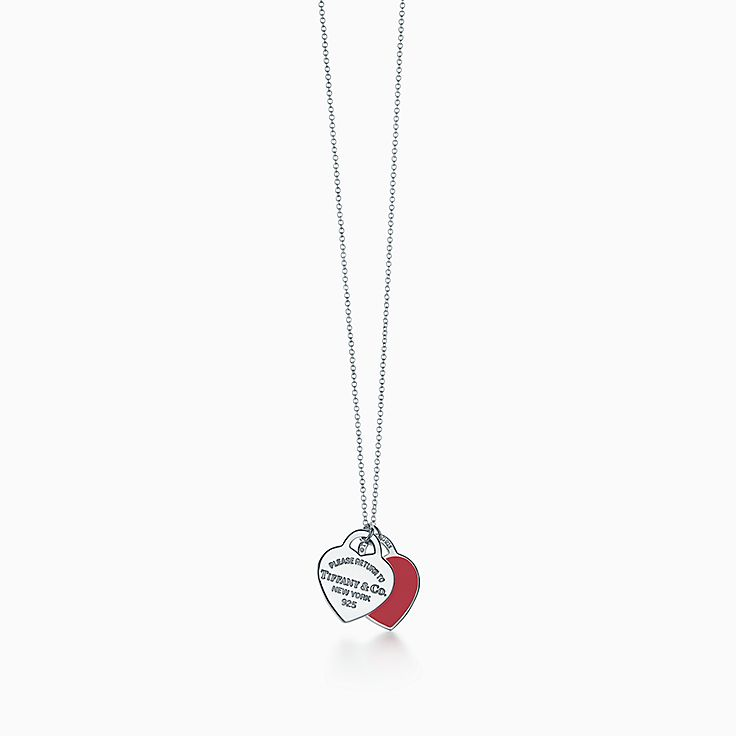 Return to Tiffany™:двойная подвеска в форме сердца