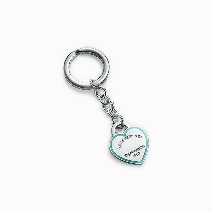 Return to Tiffany™:心形吊飾鑰匙圈